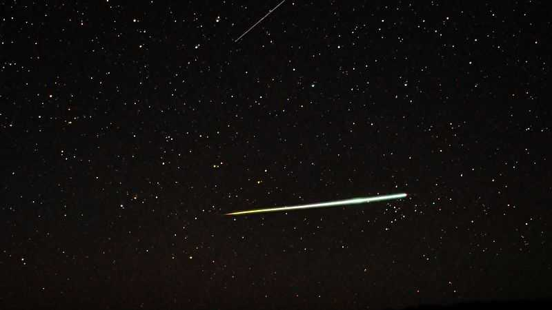 This meteor was photographed over Australia in 2011.