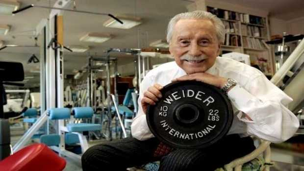 Joe Weider was a legendary figure in bodybuilding who helped popularize the sport worldwide and played a key role in introducing a charismatic young weightlifter named Arnold Schwarzenegger to the world.  (November 29, 1919 – March 23, 2013)