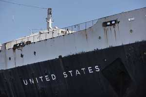 The 990-foot-long ship could be sold for scrap within two months unless the grass-roots preservation group that's working to secure a home and purpose for it can raise $500,000 immediately.