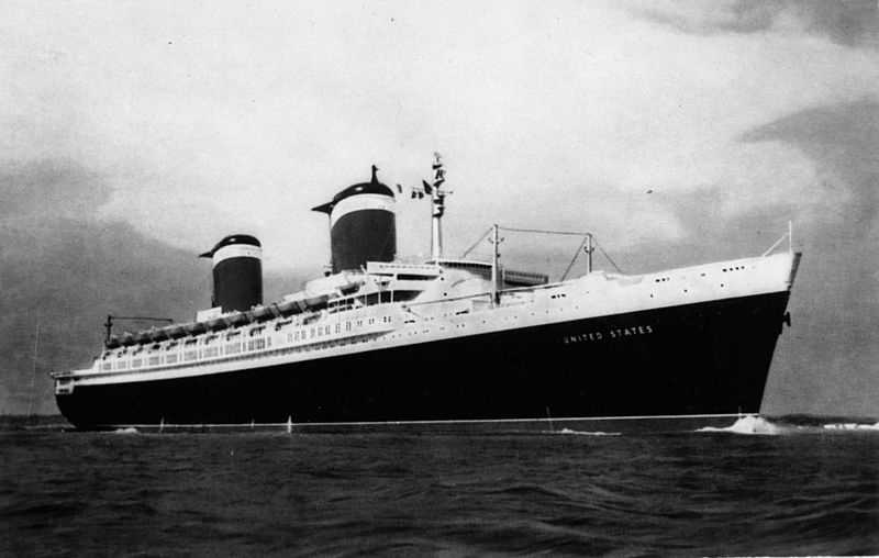 The SS United States carried more than 1 million passengers at record-breaking trans-Atlantic speeds over the course of 400 round trips from 1952 to 1969, among them President John F. Kennedy, Prince Rainier of Monaco, Salvador Dali and Elizabeth Taylor.