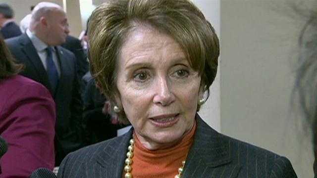 Pelosi sidesteps questions about Senate race during Boston visit
