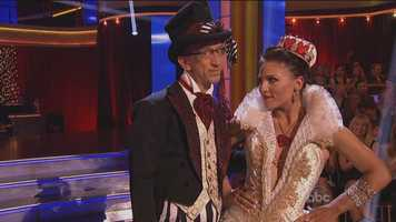 Dancing Jazz, Comedian & actor Andy Dick and his professional partner Sharna Burgess.