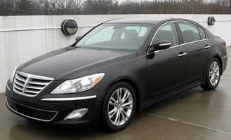 The V-6 engine turns in an exemplary performance and the new 8-speed automatic transmission raises the performance level to the point that the optional V-8 is unnecessary. The TrueCar national market average price of the 2013 Hyundai Genesis four door sedan V6 3.8 liter is $33,358, 4.9 percent less than the MSRP.