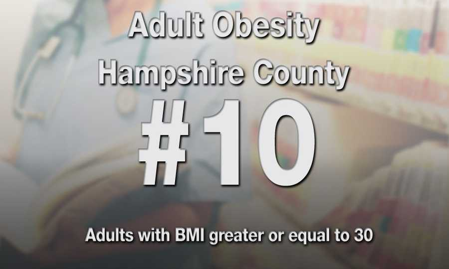 #10) Hampshire County
