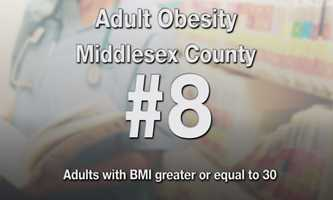 #8) Middlesex County