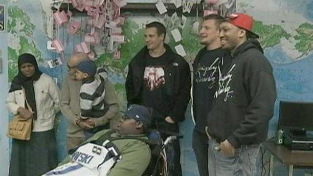 Gronk surprises student with visit, jersey