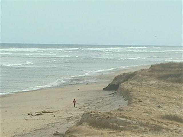 From Newport to the National Seashore, beaches are disappearing.