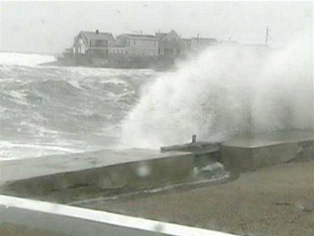 The Atlantic coastline has been under a brutal assault by a battery of storms.