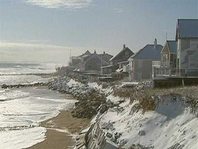 Erosion rates of approximately a foot a year have long been the norm on Plum Island.