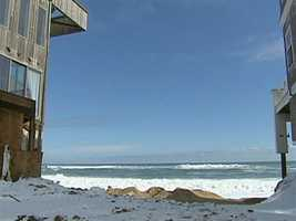 What explains the surge in Plum Island erosion rates?