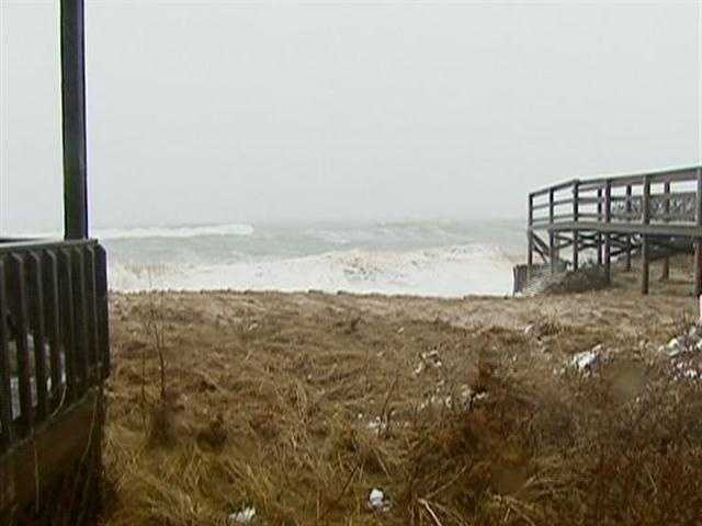 New England coastal erosion, is not exclusive to areas exposed to the open Atlantic.