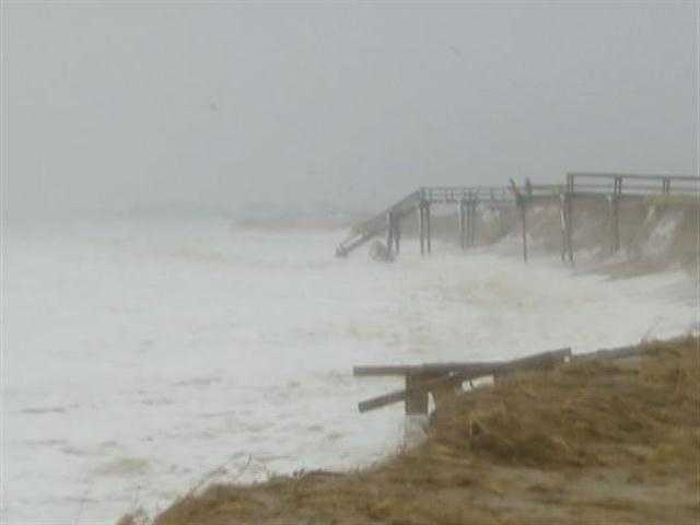 Nor'easters can put a ferocious hit on the inner arm of Cape Cod.