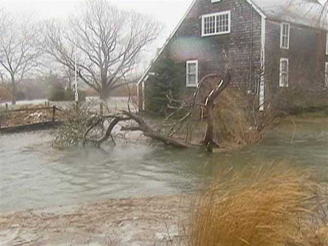 War spills during storms, and with almost every high tide.