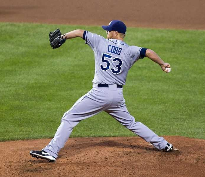 Tampa Bay Rays pitcher Alex Cobb was born Oct. 7, 1987, in Boston. He made his major league debut on May 1, 2011.