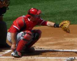 Los Angeles Angels catcher Chris Iannetta was born April 8, 1983, in Providence, R.I. He made his major league debut on Aug. 27, 2006.
