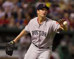 Cleveland Indians pitcher Rich Hill was born March 11, 1980, in Boston. He made his major league debut on June 15, 2005.