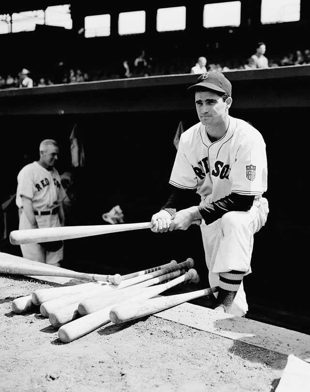 Hall-of-famer Bobby Doerr played from the Boston Red Sox from 1937 to 1951.