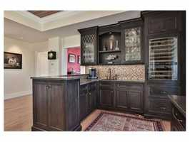 The home has been renovated with incredible attention to detail.