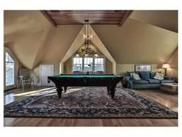 Your own private game room.