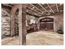 Your own wine cellar.