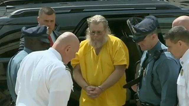 A man who disappeared while awaiting sentencing for three rapes in Massachusetts 34 years ago is being held without bail after agreeing to return without a fight.