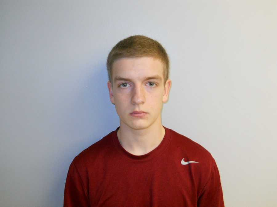 Jacob Veroneau was arrested by Concord, NH Police for Falsifying Physical Evidence