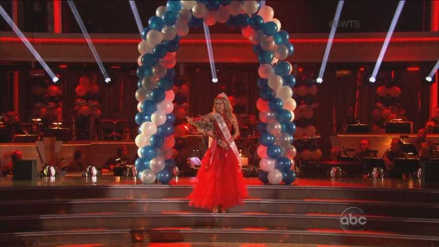 """Ingo Rademacher and Kym Johnson danced the Paso Doble to """"Another One Bites the Dust"""" by Queen."""