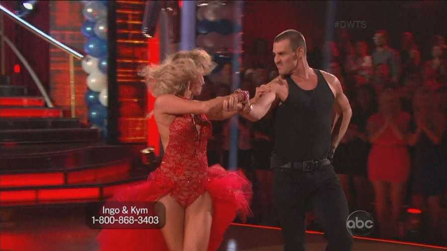 The dance was filled with passion between Ingo and Kym. They make an excellent pair.