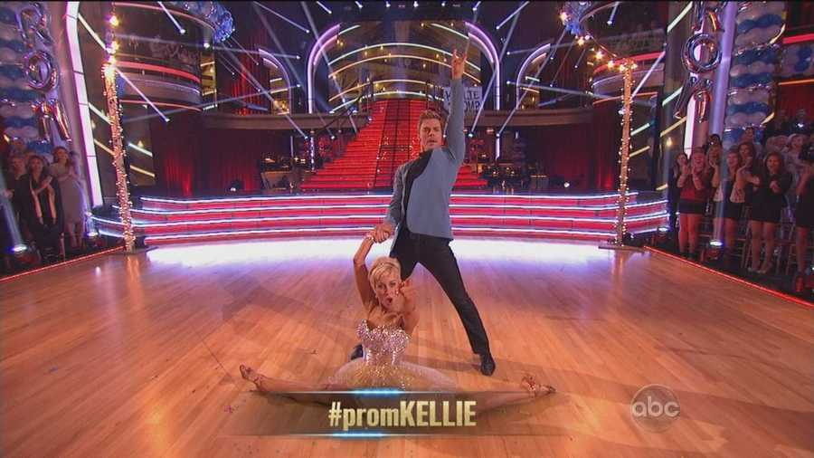 """""""Crisp, tight, precise... Actually you're sharper than a samurai sword,"""" said Bruno. """"That was ridiculously amazing,"""" said Carrie Ann. """"You're officially the queen of the prom,"""" said Len."""