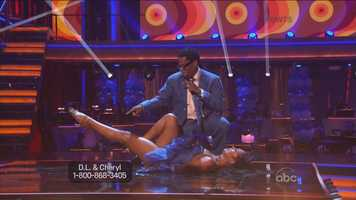 """Tonioli wasn't much kinder, saying: """"I appreciate the effort but, I mean, salsa is all about very smooth, slinky and oily hip action. What you looked like was almost a case of hip replacement."""""""