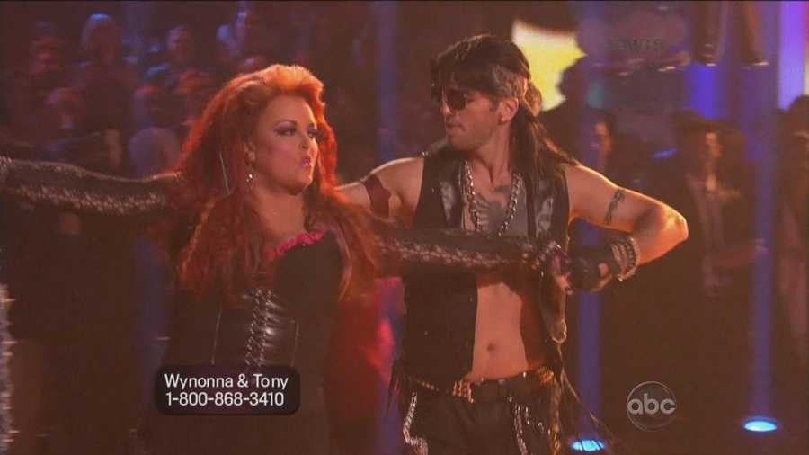 """The country music legend's rock-infused samba fell flat with judges. Inaba said the dance didn't demonstrate improvement for Judd, while Tonioli said it """"was a bit sedated for a performance."""""""