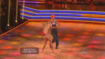 Judges thought the reality TV star's cha cha was full of fun, even though they acknowledged that his footwork needed improvement.