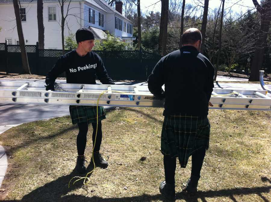 Men in Kilts just opened up a franchise in the Boston area and owner Judy Briggs said the response has been tremendous.