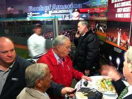 The Red Sox are taking the wraps off some of the new changes for Fenway Park for 2013. Mayor Tom Menino checks out some of theculinaryofferings.