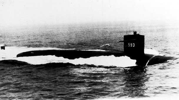 On April 10, 1963, the submarine already had undergone initial sea trials and was back in the ocean about 220 miles off Cape Cod for deep-dive testing.