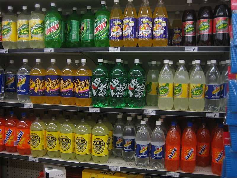 You've switched from regular soda to diet.