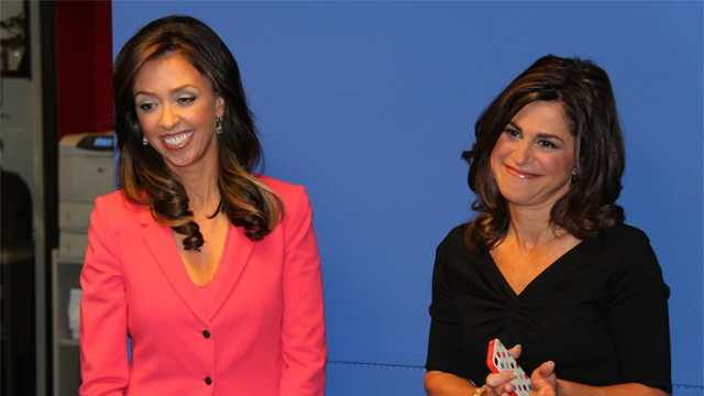 Two friendly former rivals are now on WCVB-TV, Boston's News Leader.
