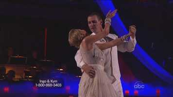 "All three judges commended Rademacher for his improvement, saying his Viennese waltz showed that he had taken their advice from last week and work hard. Tonioli called the performance ""elegant, dashing, deeply romantic"" and said Rademacher did a fantastic job."