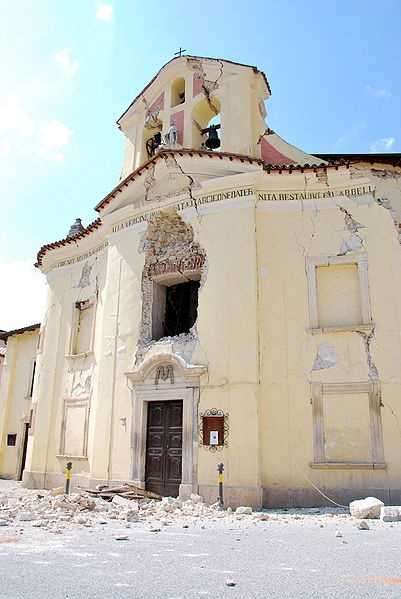 April 6, 2009: The L'Aquila earthquake hit in the region of Abruzzo, in central Italy.