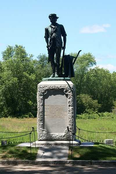 "Ralph Waldo Emerson called the Battles of Lexington and Concord ""the shot heard 'round the world."""