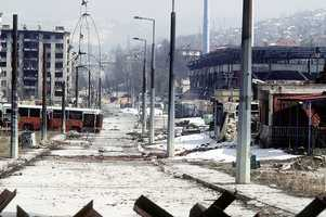 April 5, 1992: The Siege of Sarajevo -- the longest siege of a capital city in the history of modern warfare -- begins.