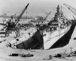 Iowa was decommissioned for the last time in 1990, and was initially stricken from the Naval Vessel Register in 1995.