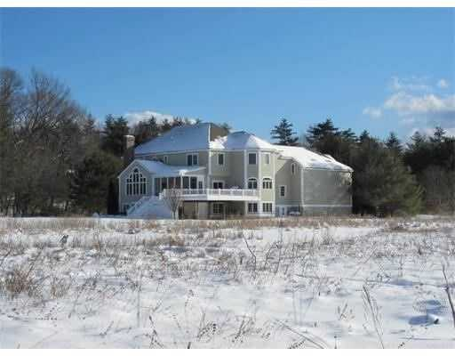 The home is set on 1.99 acres