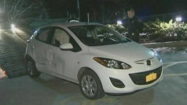 A wild police chase came to an end in the parking lot of a local hospital's emergency room.