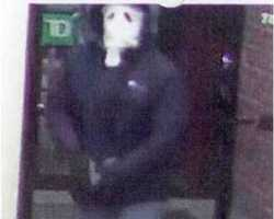 On March 1, 2013, TD Bank, 91 Pleasant Valley Street, Methuen, Massachusetts, was robbed by an armed white male at 7:45 pm.