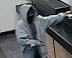 On April 8, 2013, at approximately 5:29 pm, TD Bank, 1255 Bridge Street, Dracut, Massachusetts, was robbed by an armed white male.