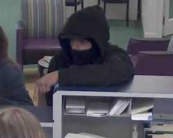 On April 9, 2013, at approximately 2:12 pm, TD Bank, 280 Main Street, Groveland, Massachusetts, was robbed by an armed white male.