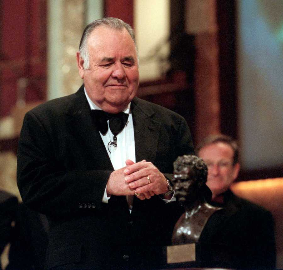 "Comedian Jonathan Winters breakneck improvisations inspired Robin Williams, Jim Carrey and many others. Winters was a master of improvisational comedy, with a grab bag of eccentric personalities and facial expressions. He was introduced to millions of new fans in 1981 as the son of Williams' goofball alien in the final season of ABC's ""Mork and Mindy.""(November 11, 1925 - April 11, 2013)"