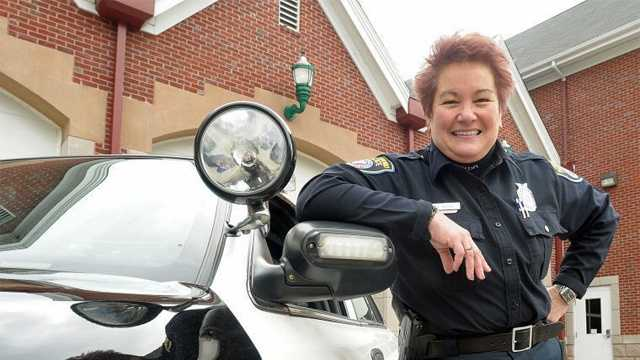 Attleboro Police Officer Sue Boisse is credited for saving her 78-year-old mother's life recently.