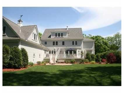 The home sits on .65 acres.